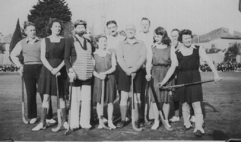 Staff in the 1940s