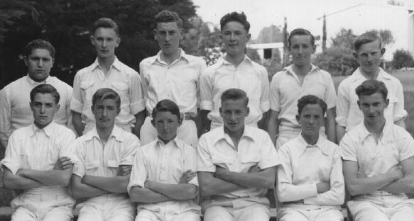 Back Row : (Left to Right): Kalaris Paizis, Neville Duff, Ian Lurati, Barry Davies, Mervyn Day, Alan Dare Front Row: Craig Flint, Gregory Surtees, John Butler, Ian Hill, Ronald Smith, Graeme May.