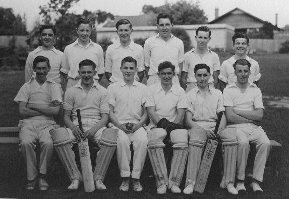 First XI Cricket team, 1947