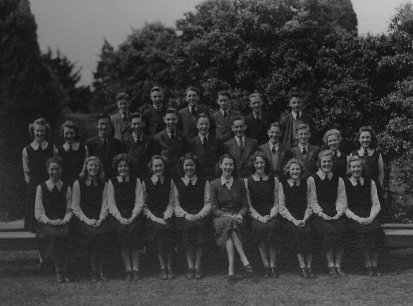 1940s year group photos