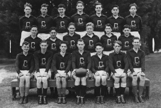 Senior Football team, 1948