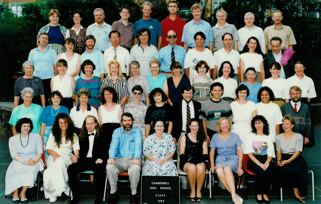 Staff in the 1990s