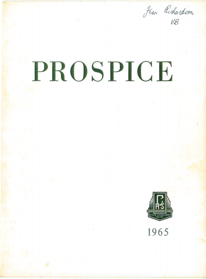 Prospice 1965