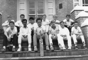 Senior cricket team, 1989