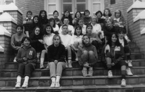 Athletics team, 1989